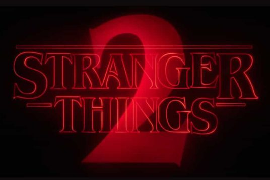 Stranger Things 2 Main Title Image from trailer