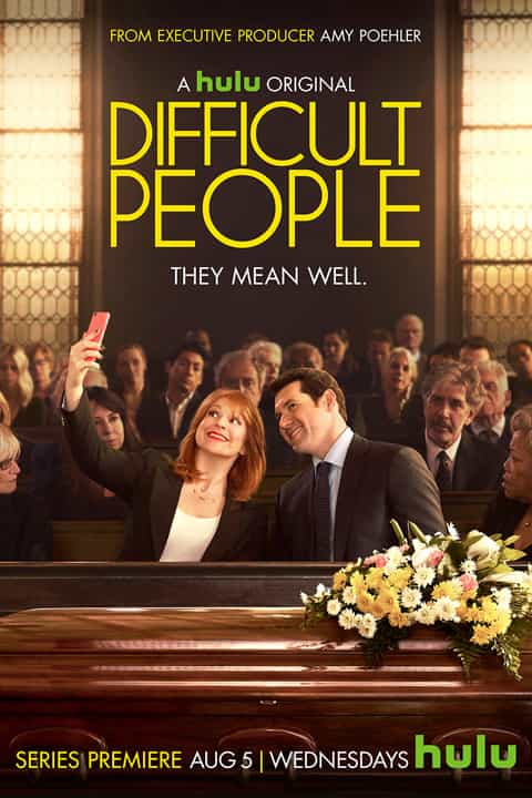 DIFFICULT PEOPLE - A hulu original - Poster