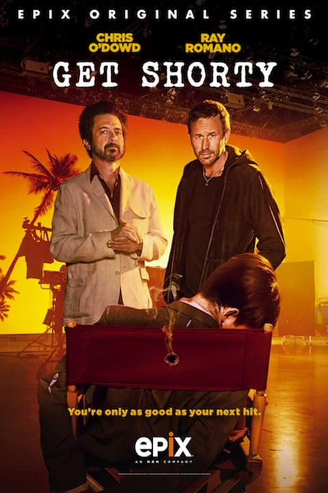 EPIX's GET SHORTY (2017) Poster with Chris O'Dowd and Ray Romano