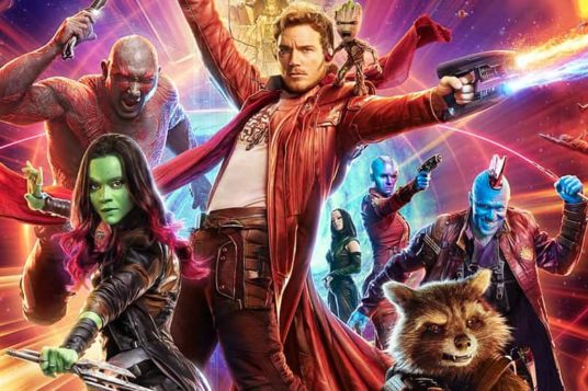 Guardians of the Galaxy Vol. 2 character poster