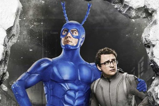 The Tick Poster Image of The Tick and Arthur